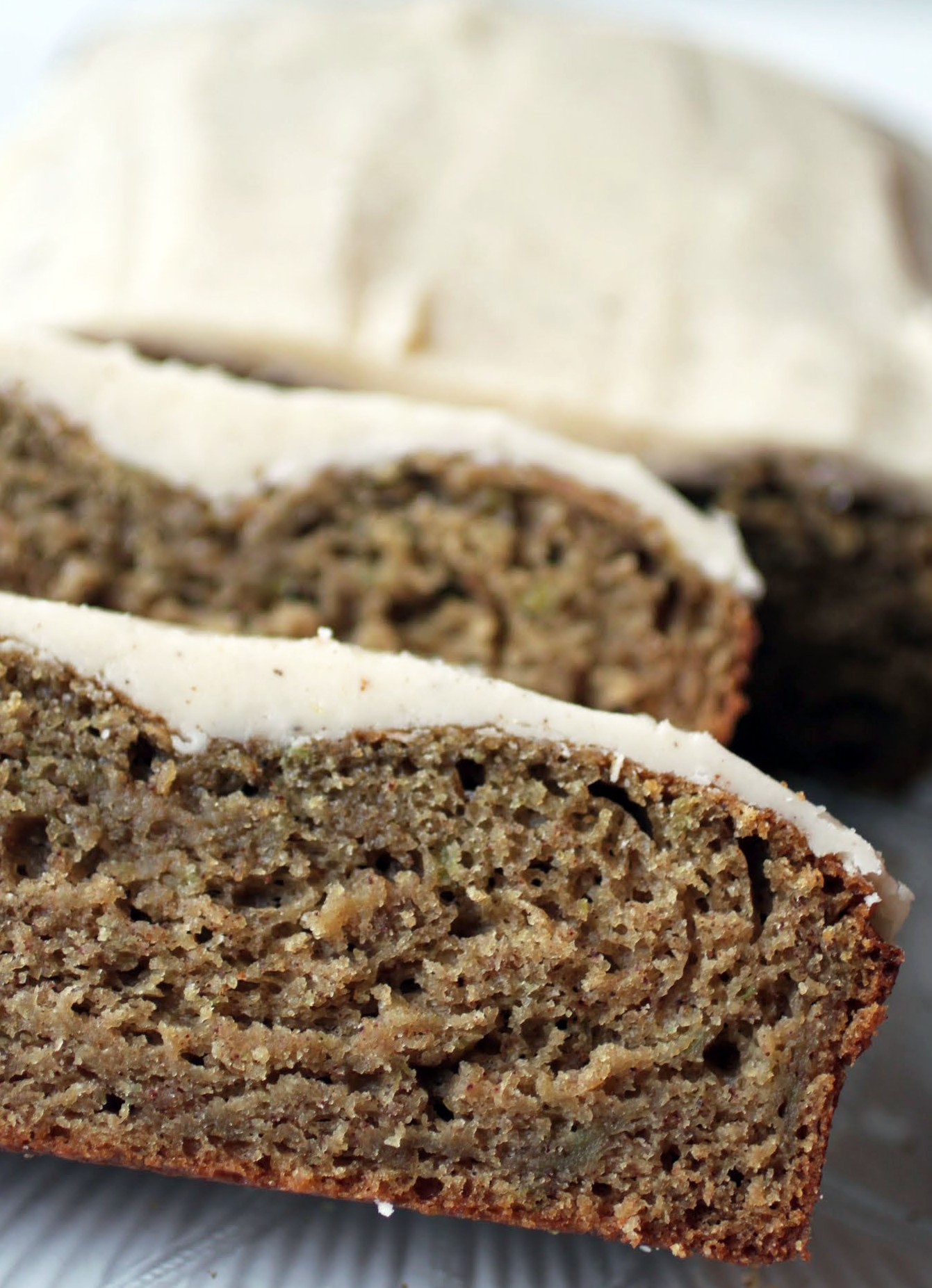 Zucchini Bread With Brown Butter Glaze