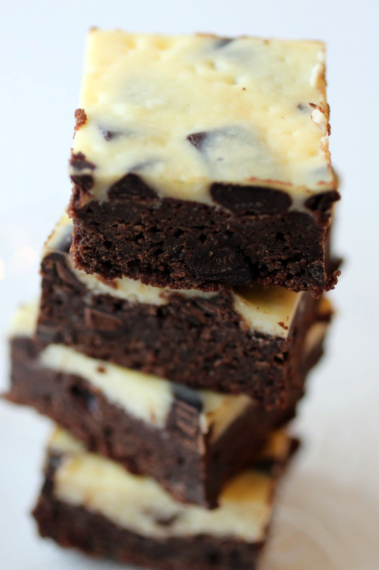 Chocolate Chunk Cheesecake Brownies