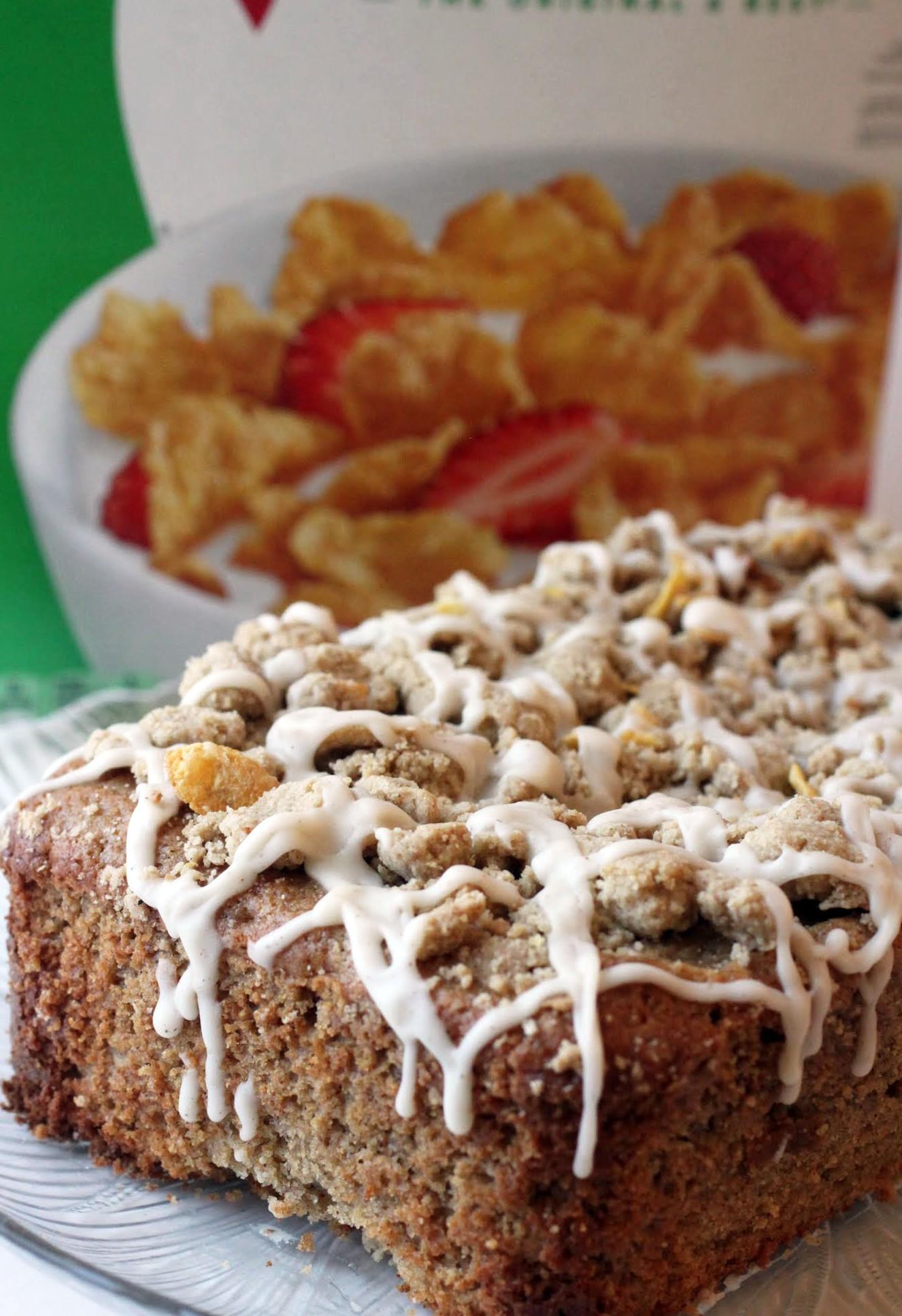 Corn Flake Cinnamon Crumb Bread