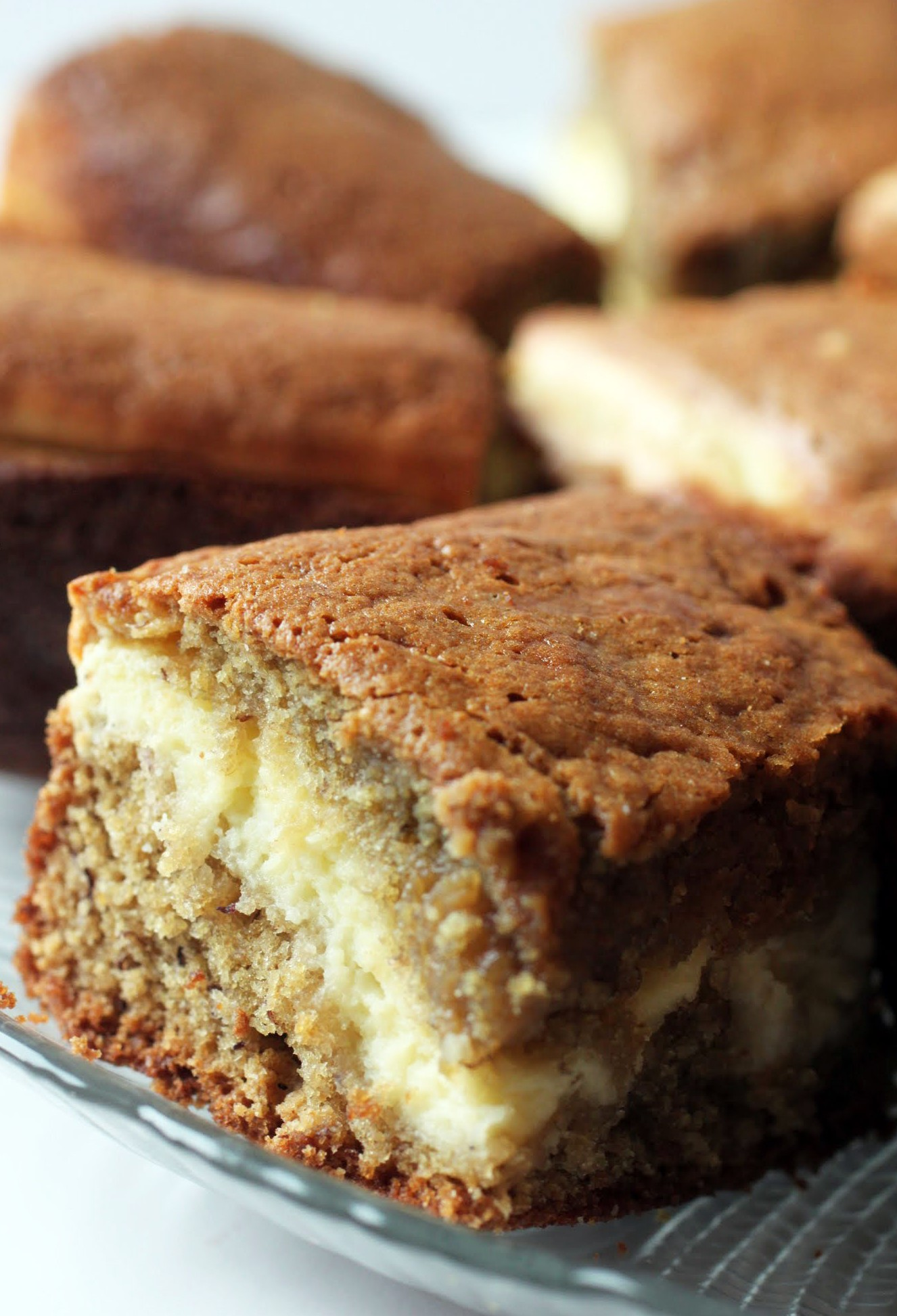 Hidden Treasure Banana Snack Cake