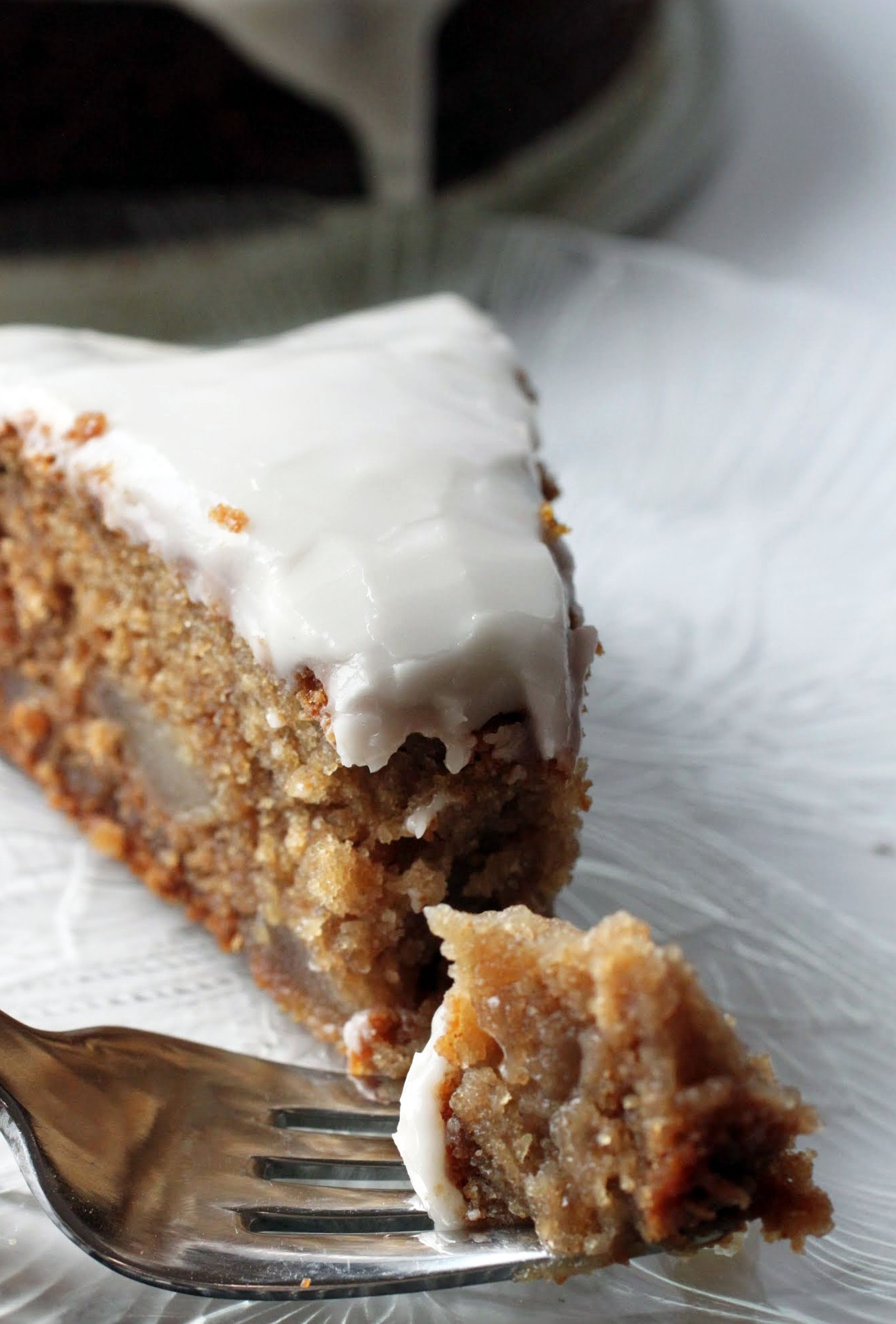 Honey-Glazed Apple Cake (GF)