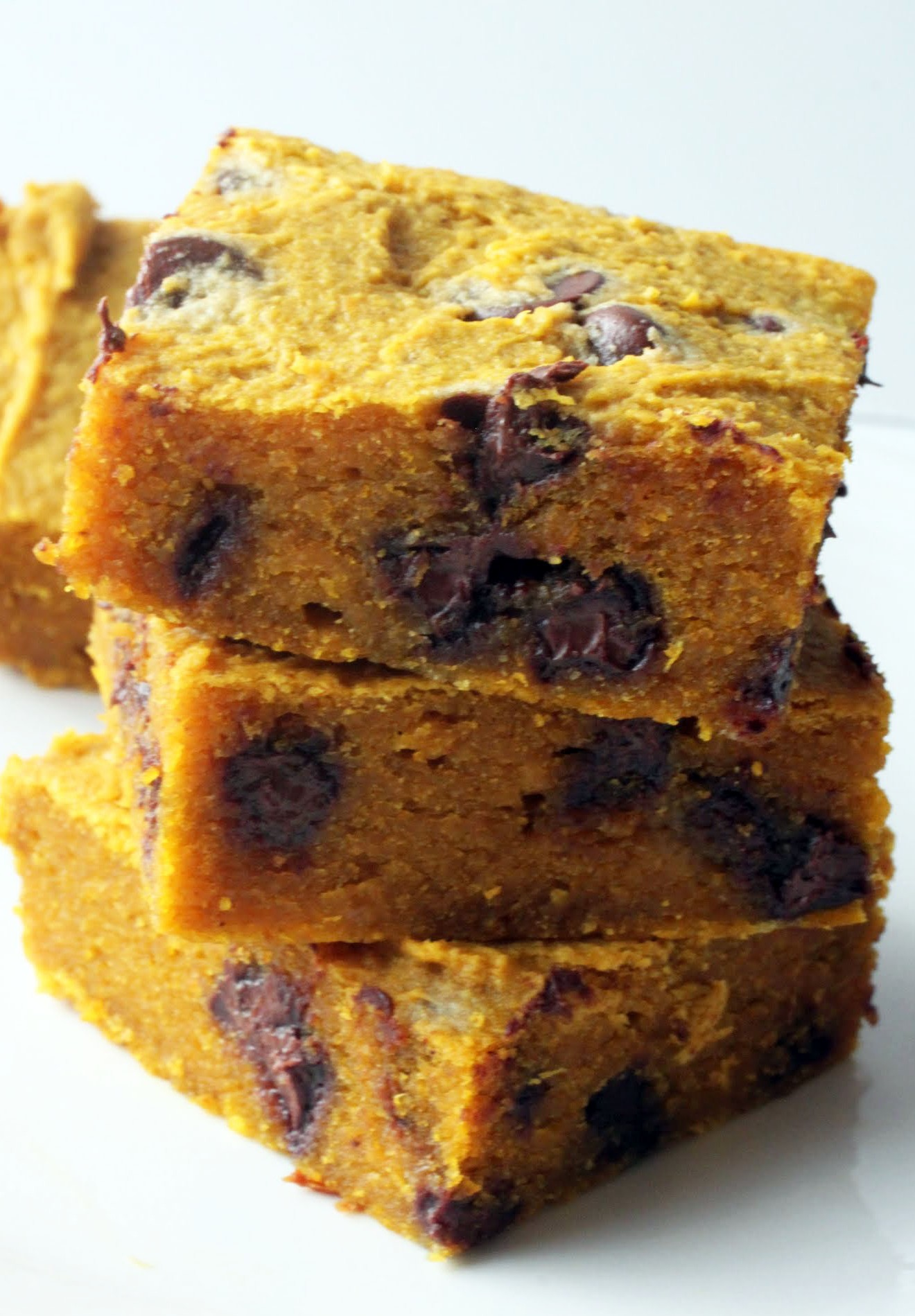 Pumpkin Chocolate Chip Bars (GF)