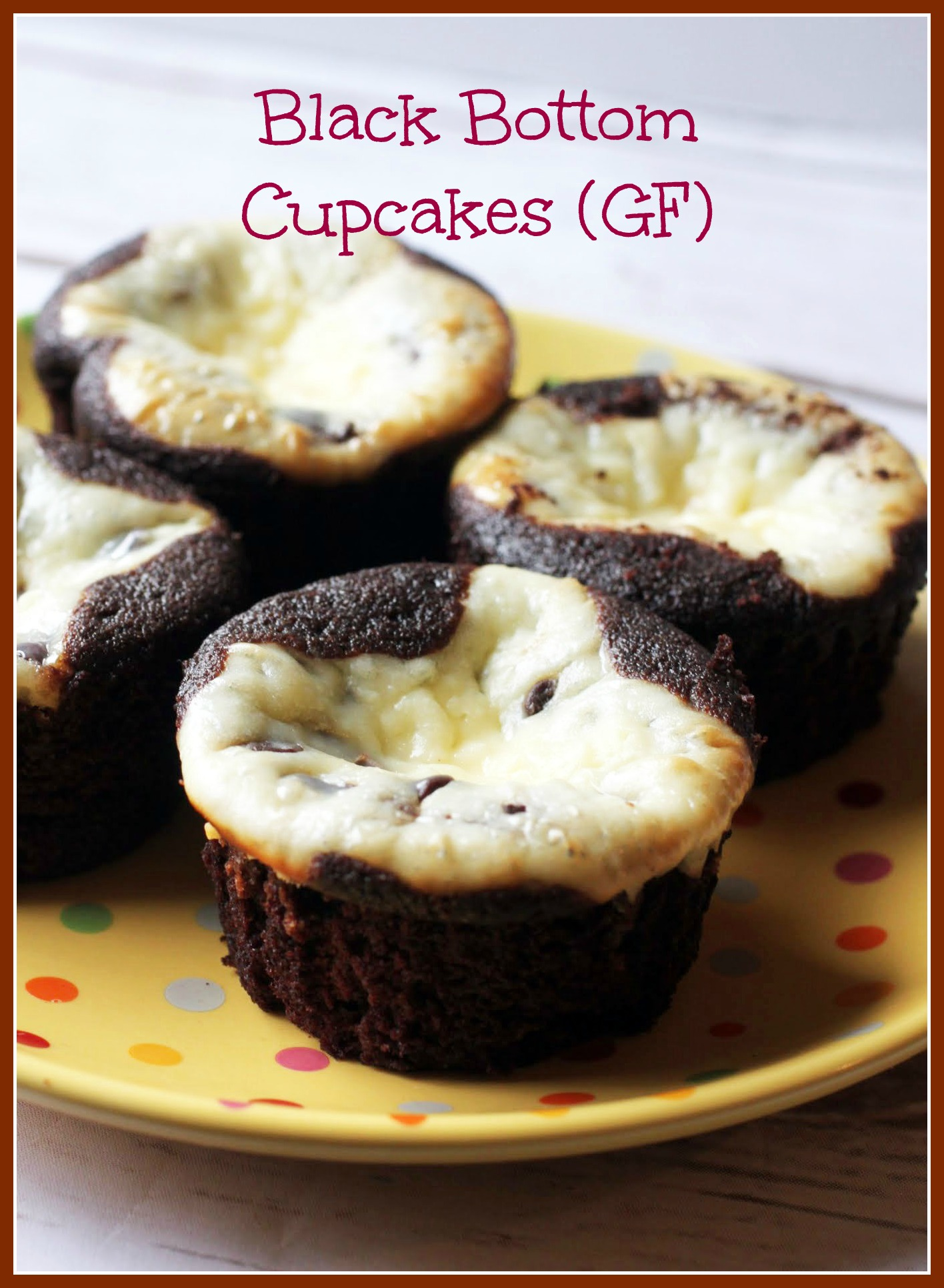 Black Bottom Cupcakes (GF)