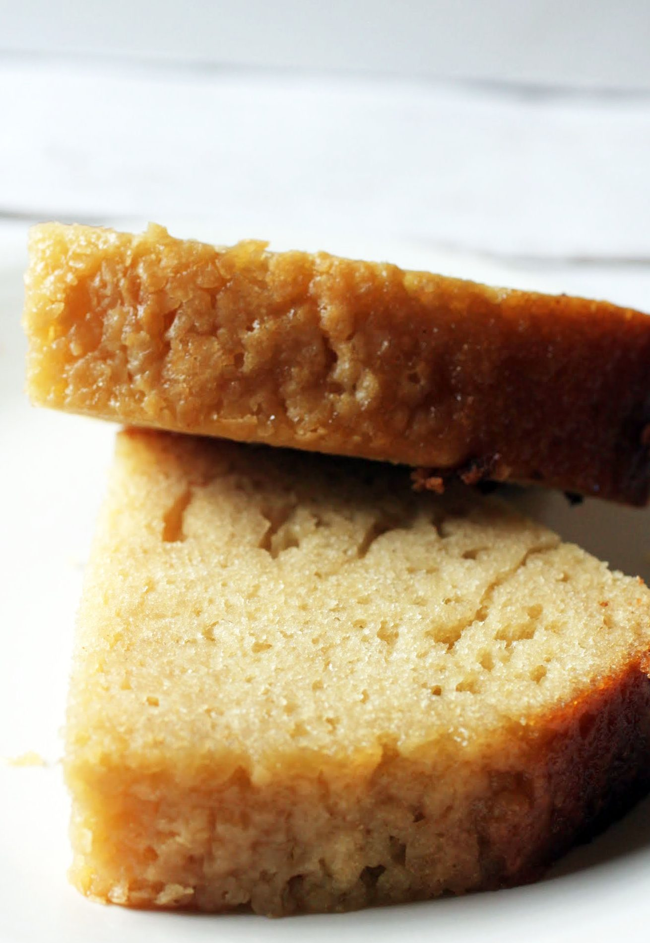 Brown Sugar No-Pound Cake