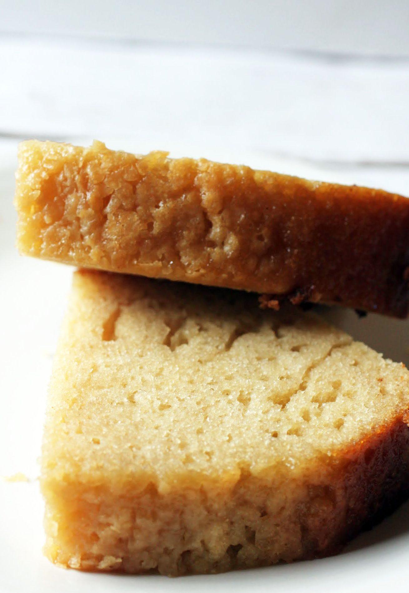 Brown Sugar No-Pound Cake